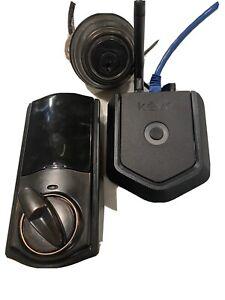 Kwikset Kevo Plus Smart Lock Kit Bluetooth and Remote Entry