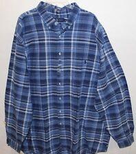 Polo Ralph Lauren Big & Tall Mens Blue Indigo Oxford Button-Front Shirt NWT XLT