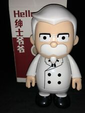KFC Kentucky Fried Chicken Toy Plastic Vinyl Colonel Sanders Figure Bank 6 Inch