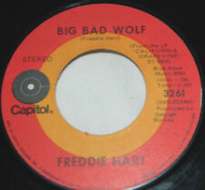 Freddie Hart on Capitol / 45 rpm / Big Bad Wolf / My Hang-Up Is You