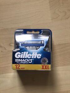 Gillette Mach 3 Turbo Klingen 12 Stück XXL
