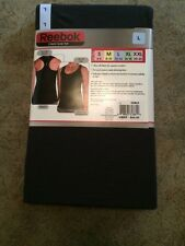 NWT Womens REEBOK Exercise Fitness Running 2 Pack Tank Tops Size Large