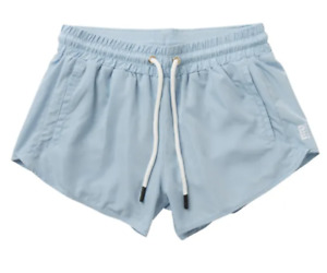 PE NATION THE DOUBLE DRIVE SHORT - BLUE PALE - POLYESTER - RRP £100.00