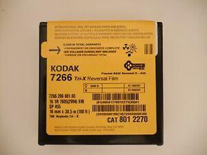 KODAK TRI-X 100ft 16mm Black-and-White Reversal Movie Film 7266 BRAND NEW FRESH