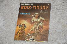 Bd Les tours de Bois-Maury tome 1 en EO : Babette / Hermann