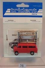 Trident 1/87 No. 90041 Chevrolet Sportvan rot OVP #098