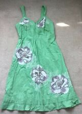 MONSOON Size 16 Pretty Green, Sequin Decor Dress, Lined ❤️PERFECT CONDITION