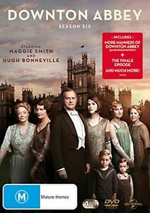 Downton Abbey Season Six Box Set (DVD Region 4) NEW+SEALED