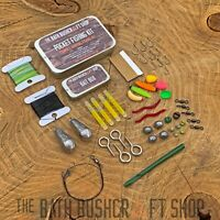ULTRA COMPACT SURVIVAL EMERGENCY FISHING KIT BUSHCRAFT CAMPING EDC