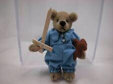 """World of Miniature Bears 2.5"""" Velvet Bear Michael #1187 CLOSING"""