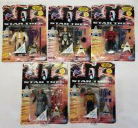 Lot Of 5 1994 Playmates Star Trek Generations Action Figure Toys