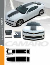 2010-2015 Camaro Bee3 Hood Roof and Trunk Stripes Decal Kit