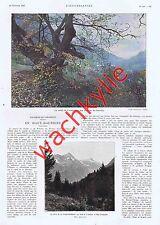 L'illustration n°4377 22/01/1927 Paris Haussmann Puteaux Renouardt Haut-Dauphiné