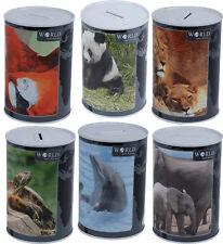 Wildlife money tin