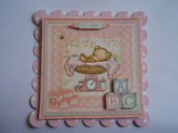 PACK 2 BABY GIRL PINK SCALES FOR CARDS & CRAFTS