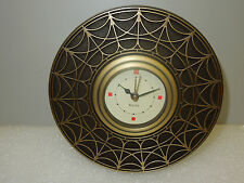 "Bulova Table- Alarm Clock Frank Lloyd Wright ""Blossom House"" Table Clock B7763"