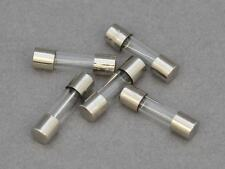10 X F1.25A Quick Blow Glass Fuse. 20 x 5mm, 250v