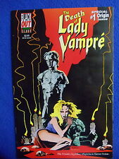 ~~~ THE DEATH OF LADY VAMPRE' SPECIAL ORIGIN FLIPCOVER ISSUE ~ 1995 ~~