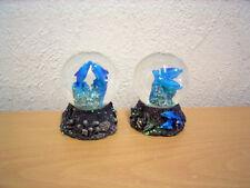 """Kleine Schneekugel """"Delfine"""" (Kunstharz/Glas) / Small Snow Globe """"Dolphins"""" (SR)"""
