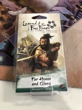Legend of the Five Rings LCG Dynasty Pack: For Honor and Glory