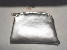 Silver Metallic Rosary or Chaplet Pouch