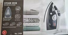 Wired steam iron steam iron Self Clean INTERTEK 1740W - Black