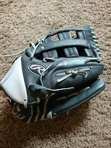 Rawlings Silverback SB1301C Pro Softball Glove Right Hand Throw Black Silver