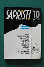 Collectif : coffret 10 CP Sapristi