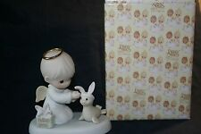 PRECIOUS MOMENTS  456314     HEAVEN BLESS YOU EASTER SEAL 1999    ORG BOX