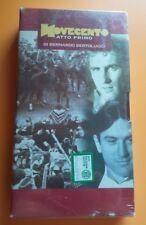 Film Novecento - Atto Primo (1976) VHS Bernardo Bertolucci  Ed.editoriale NUOVO