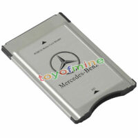 PCMCIA to SD Adapter for Mercedes-Benz Audio System Support SDHC 32GB