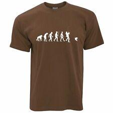 Mens Evolution Of Fishing T Shirt Funny Fisherman Angler Carp Fish Tshirts Tee