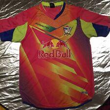 Multicoloured Fluorescent Thailand Soccer Football Jersey 2XL Thai Sz 90 Minutes