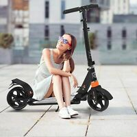 Scooter for Adults/Teens, Big Wheels Scooter Folding Kick Scooter with Dual.