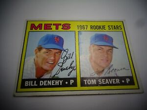 1967 Topps Tom Seaver ROOKIE RC #581 high number