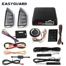Easyguard pke car alarm remote start shock keyless go push button start security