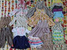 Large Lot Toddler Girl Clothes Shorts Pants Tees Dresses 20 pcs size 18m 18-24m