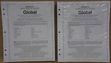 2016 Minkus Worldwide Global Stamp Supplement Parts 1 & 2 For 2015 Stamps