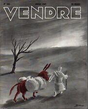 ▬►MARKETING PUBLICITÉ  -- VENDRE N° 203 (JANVIER 1947) --  COVER GAU