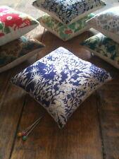 Pin cushion handmade with Liberty fabric, Paper Garden