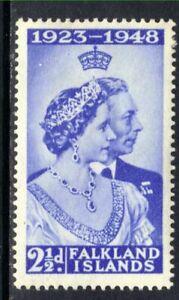 FALKLAND ISLANDS 1948 SG166 KGVI 2½d. ROYAL SILVER WEDDING -  MNH