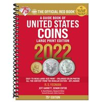 2022 - LARGE PRINT SPIRAL - RED BOOK ***75TH ANNIVERSARY EDITION*** SHIPPING