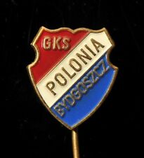 Vintage Poland Footbal Soccer Pin, GKS Polonia Bydgoszcz
