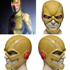 XCOSER Reverse Flash Helmet Villain Full Head PVC Mask TV COSplay Halloween Mask
