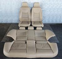 BMW 3 Serie E90 pelle Beige Sedili Interni con Airbag E Porta Carte