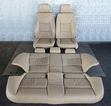 BMW 3 Serie E90 Piel Beige Asientos Interiores Con Airbag y Puerta Tarjetas