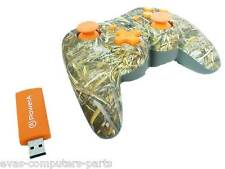 Power A Pro Wireless PS3 Playstation 3 Controller MAX-5 Realtree Orange-Camo A++