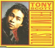 TONY SCOTT From Da Soul 5TRX w/ 4 RARE MIXES Europe CD single USA SELLER SEALED
