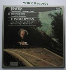 6725 011 - HAYDN - Divertimenti & Concertini KOOPMAN - Ex 4 LP Record Box Set