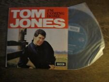 "Tom Jones - I'm Coming Home - 1967? EP 7"" Vinyl Picture Sleeve - Rare Aust Only"